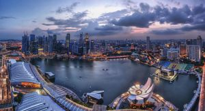 Sunset Skypark's View by nuic