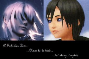 Riku and Xion by Zexion-Tamer
