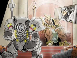 Reinhardt - The last crusader by VachalenXEON