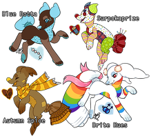 [Adoptables] Pillowing Collab (SOLD) by CloverCoin