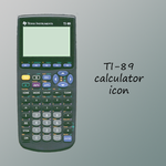 TI-89 Calculator Icon by 7hir7een