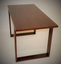 Modern Maple Office Desk by belakwood
