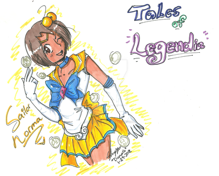 Sailor Norma -Tales of Legendia- by EchoVoice713