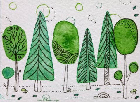 Foret by Mymylle