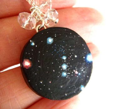 Orion Constellation Necklace by KawaiiCulture