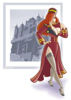Jessica Rabbit commission by Hackman23