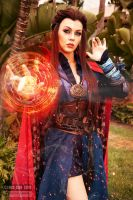 Dr. Strange Cosplay by Genevieve Marie II by wbmstr