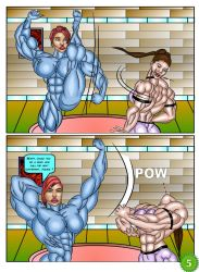 Angie Nakamura #1 page 5 by LordKelvin