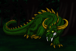 HWE-Hodag by Scatha-the-Worm
