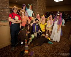 My Little Pony group by Yukizeal