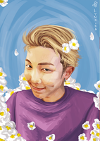 Kim Namjoon by Lynxina