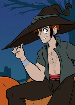 Octoberwitchthomas by Crave-The-Bullet