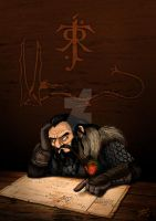 Thorin's worries by takren