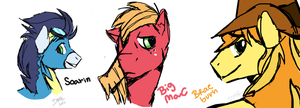 Colts  - Doodles by 13BrokenHeart13