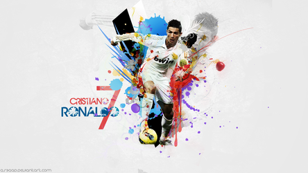 Cr7 Wall by as3aaD