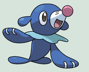 Happy Popplio Base by ZwolfieLeaf