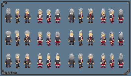 Shinigami Student Hairstyles (2/2) by RollToNotDie