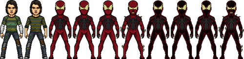 Ultimate Crimson Spider by SpiderTrekfan616