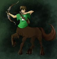 Commission: It's a Centaur by eecomics