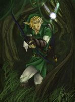 Link and Navi by Dream-Echo