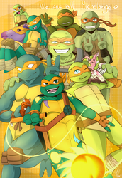 We are all Michelangelo!! by AMerakiDom