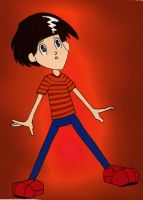 Ted Wiggins Anime Style by 1conchi