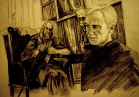 DH Lucius and Draco by SalazarinaSlytherin