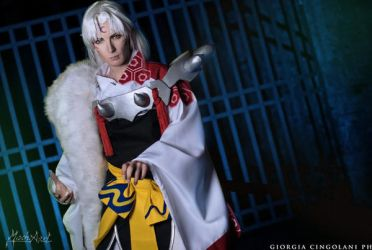 sesshomaru by MischAxel by MischAxel