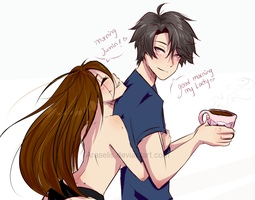 Mystic Messenger- Morning Jumin by Araselis