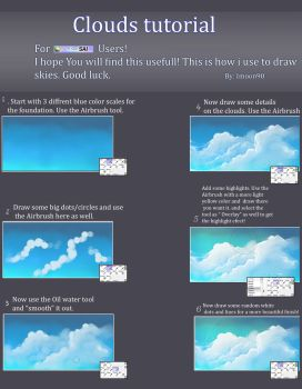 Clouds tutorial by ImoonArt