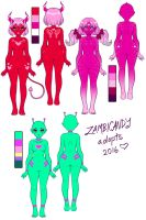 Adoptables EDIT by zambicandy