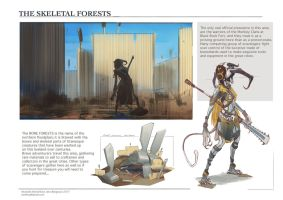 WorldNote: Skeletal Forests by CaconymDesign