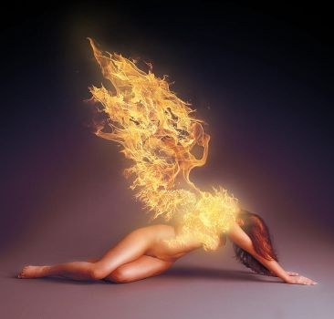 Flame Angel by anderton