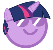 Twilight Sparkles B1 Face by TheMatrixman