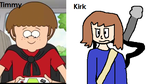 Timmy and Kirk by OffClaireBlue2001