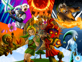 Majoras Mask by Know-Kname