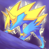 Mega Manectric by monomite