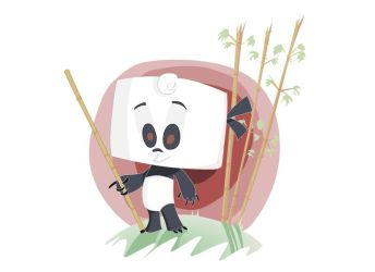 Bamboo Panda by Kpelle