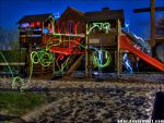 Light Graffiti - HDR'd - V1 by h0er