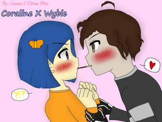Coraline X Wybie by shadamykiss4ever
