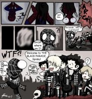 Spidey joins the Black Parade by Chocoreaper
