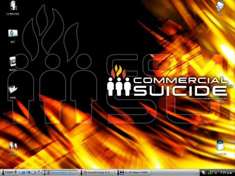 commercial suicide,alienware by GLUESNIFFA