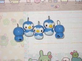 Mini Pokemon Piplup charms