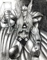The Mighty Thor by BigRob1031
