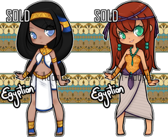 Egyptian Adopts : Closed ( Set 5 ) by SyT-Adopts