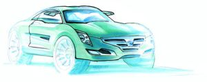 Nissan Sport Crossover Sketch by mikelyden