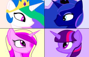 Equine royalty by pallet-pride