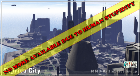[MMD] Caprica City Stage 01 DL  (NO MORE DOWNLOAD) by Riveda1972