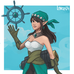 very unfinished ying by lady-largo