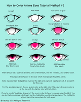 Anime Eye Tutorial Method 2 by KaciKay